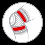 Надежная фиксация (колено)